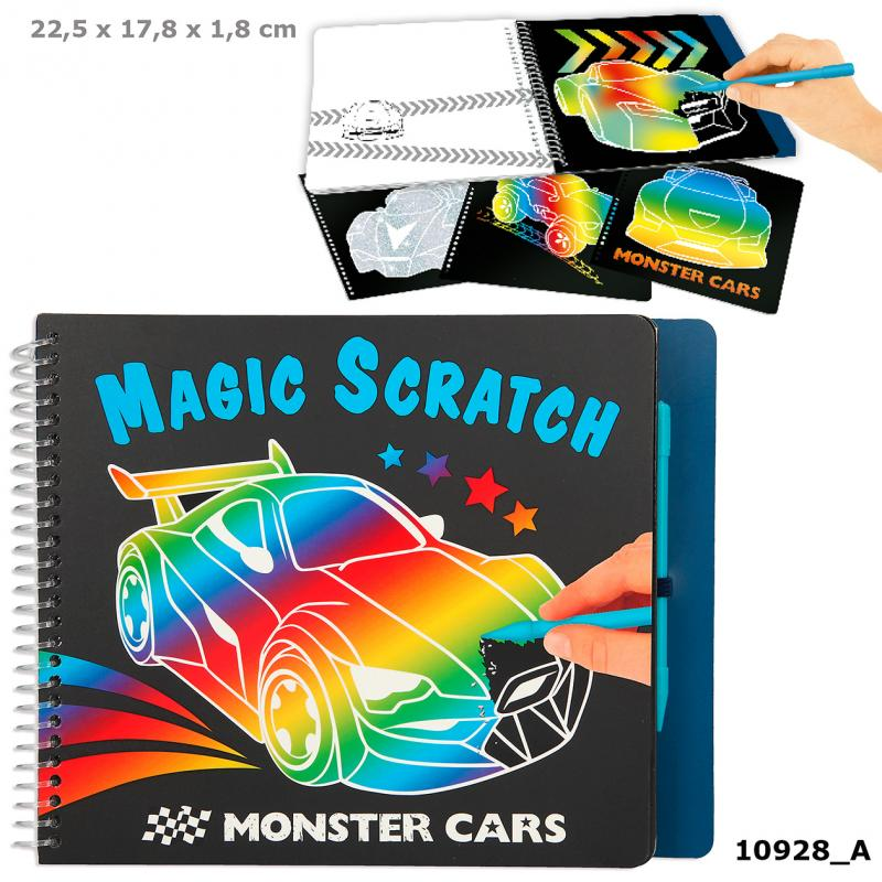 Monster Cars Magic Scratch Bog