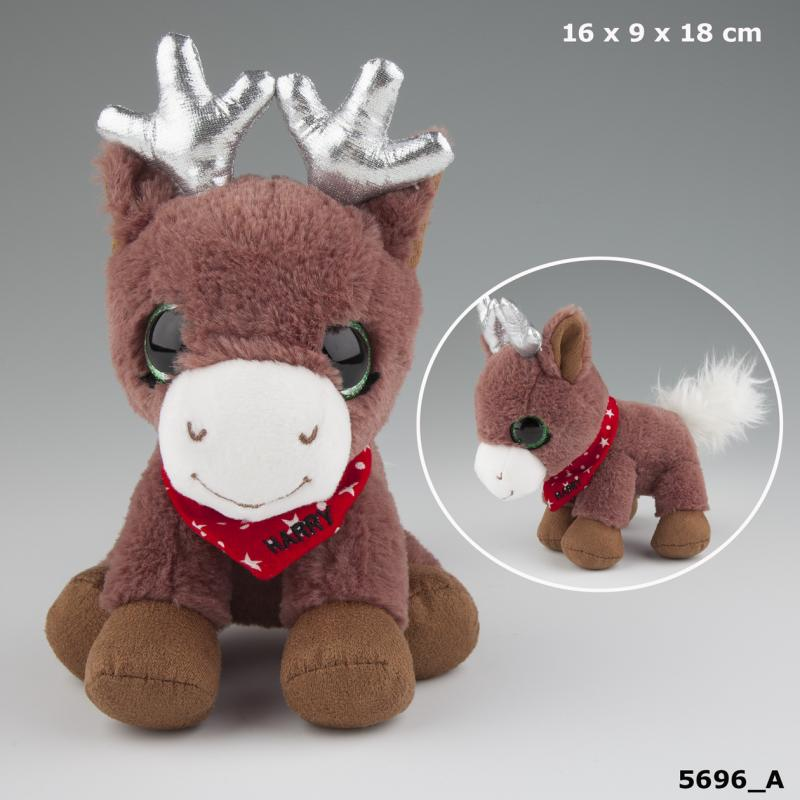 Snukis Plys 18 cm, Harry the Elk