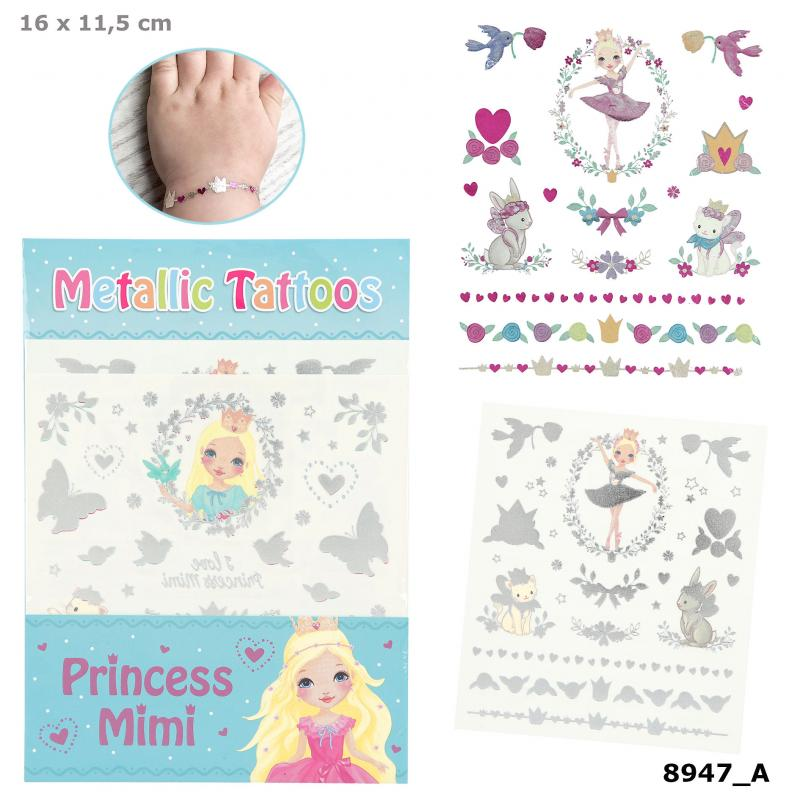 Princess Mimi Metallic Tattoos